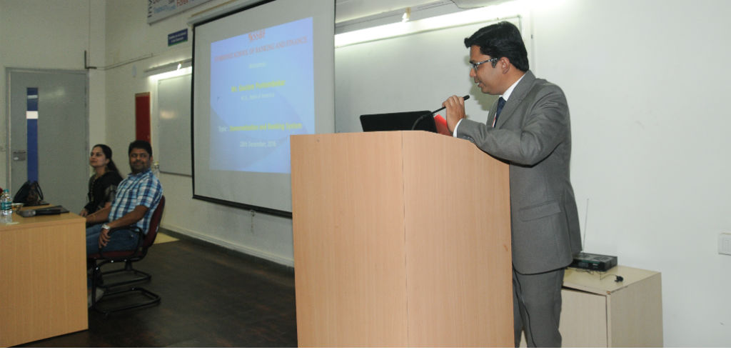 Guest Lecture by Mr. Gautam Puntambekar